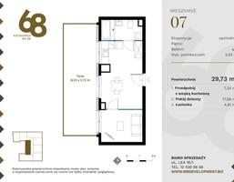 Morizon WP ogłoszenia | Mieszkanie na sprzedaż, Kraków Krowodrza, 30 m² | 3899