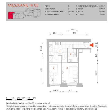Morizon WP ogłoszenia | Mieszkanie na sprzedaż, Wrocław Przedmieście Oławskie, 43 m² | 5830
