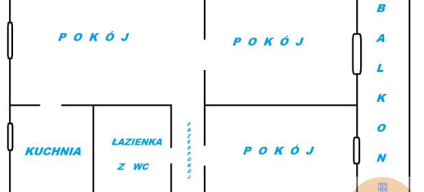 Mieszkanie do wynajęcia 47 m² Będziński (pow.) Będzin Bilika - zdjęcie 2