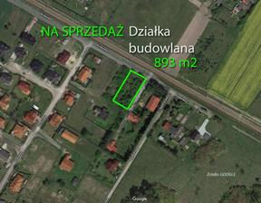 Działka na sprzedaż, Robakowo Kolejowa, 893 m²