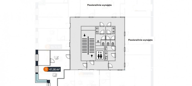 Lokal biurowy do wynajęcia 56 m² Warszawa Włochy Włochy Okęcie Janka Muzykanta - zdjęcie 2