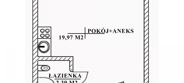 Mieszkanie na sprzedaż 21 m² Pruszkowski Pruszków Ignacego Daszyńskiego - zdjęcie 3