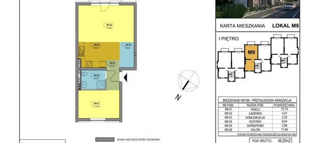 Mieszkanie na sprzedaż 48 m² Wejherowski (pow.) Kamienna - zdjęcie 2