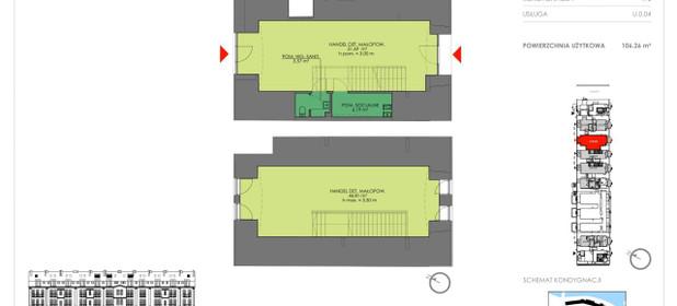 Lokal do wynajęcia 107 m² dolnośląskie Wrocław pl. Jana Pawła II - zdjęcie 3