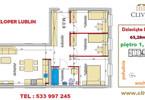 Morizon WP ogłoszenia | Mieszkanie na sprzedaż, Lublin Dziesiąta, 63 m² | 6781