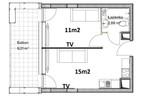 Morizon WP ogłoszenia | Mieszkanie na sprzedaż, Lublin Wieniawa, 29 m² | 6624