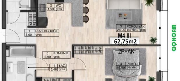 Mieszkanie na sprzedaż 62 m² Lublin M. Lublin Śródmieście - zdjęcie 1