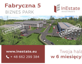 Przemysłowy w inwestycji Hala Mysłowice, Mysłowice, 6000 m²