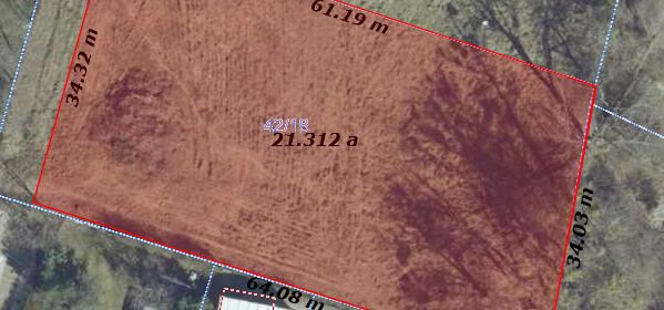 Działka na sprzedaż 2446 m² Poznań Krzyżowniki-Smochowice Krzyżowniki Przygraniczna - zdjęcie 1
