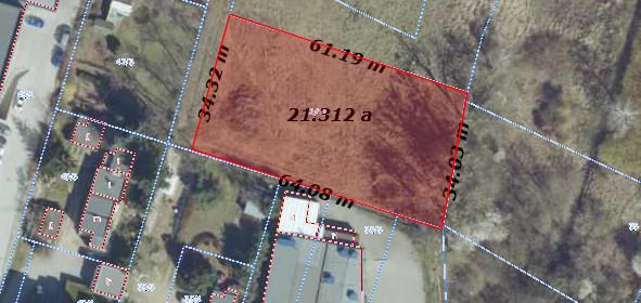 Działka na sprzedaż 2446 m² Poznań Krzyżowniki-Smochowice Krzyżowniki Przygraniczna - zdjęcie 2