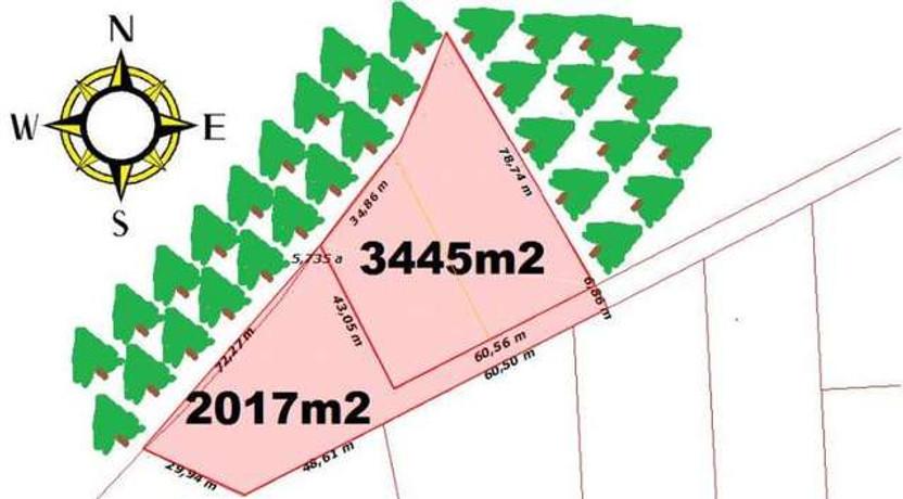 Działka na sprzedaż, Dobra, 3445 m² | Morizon.pl | 7746