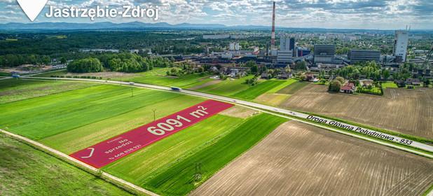 Działka na sprzedaż 6091 m² Jastrzębie-Zdrój Dębina - zdjęcie 1