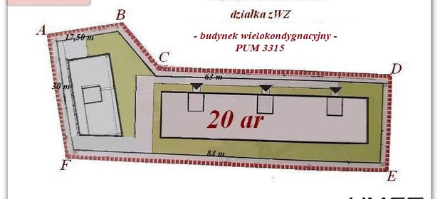 Działka na sprzedaż 2000 m² Rzeszów Śródmieście - zdjęcie 2