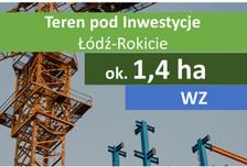 Działka na sprzedaż, Łódź Rokicie, 13987 m²