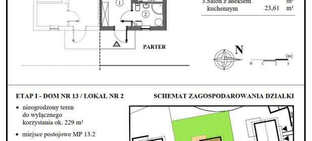 Dom na sprzedaż 55 m² Kościerski (pow.) Kościerzyna Rekowska - zdjęcie 3