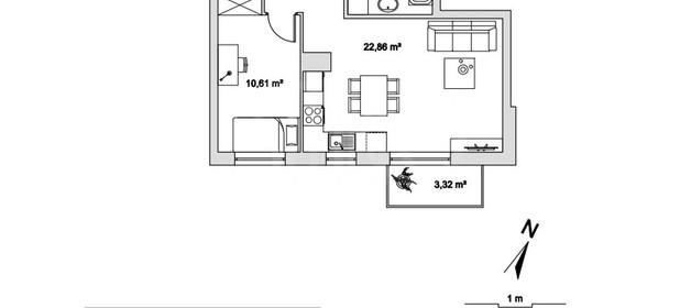 Mieszkanie na sprzedaż 40 m² Wejherowski Rumia Jęczmienna - zdjęcie 2