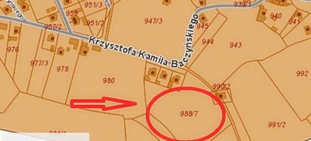 Działka na sprzedaż 1159 m² Kędzierzyńsko-Kozielski Kędzierzyn-Koźle Krzysztofa Kamila Baczyńskiego - zdjęcie 1