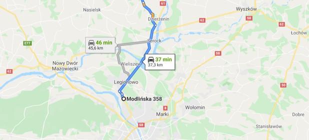 Działka na sprzedaż 1200 m² Pułtuski (Pow.) Pokrzywnica (Gm.) Nowe Niestępowo - zdjęcie 2