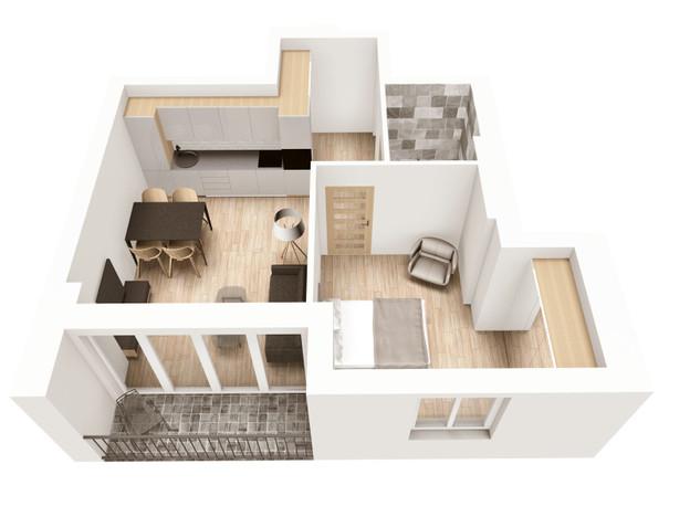 Morizon WP ogłoszenia | Mieszkanie na sprzedaż, Kraków Krowodrza, 42 m² | 6722