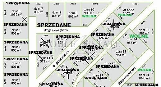 Działka na sprzedaż 878 m² Poznański Buk Szewce - zdjęcie 1