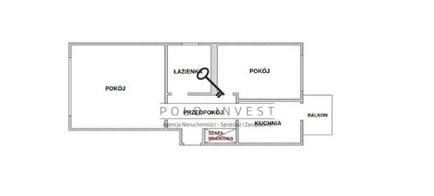 Mieszkanie na sprzedaż 45 m² Kraków Kraków-Krowodrza Krowodrza Obopólna - zdjęcie 3