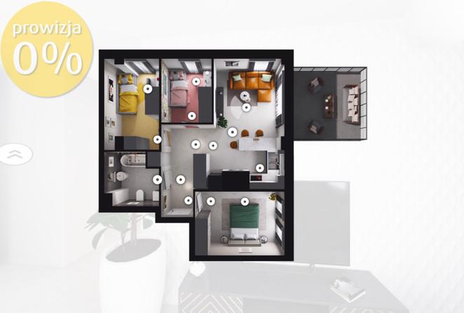 Morizon WP ogłoszenia | Mieszkanie na sprzedaż, Gliwice Stare Gliwice, 58 m² | 6555