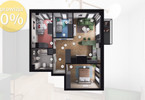 Morizon WP ogłoszenia | Mieszkanie na sprzedaż, Gliwice Stare Gliwice, 58 m² | 1486