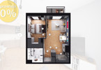 Morizon WP ogłoszenia   Mieszkanie na sprzedaż, Gliwice Stare Gliwice, 41 m²   6547