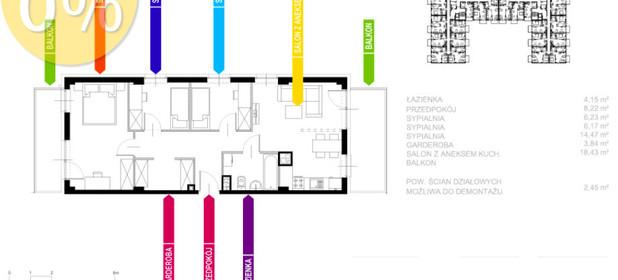 Mieszkanie na sprzedaż 64 m² Sosnowiec Sielec Klimontowska - zdjęcie 2