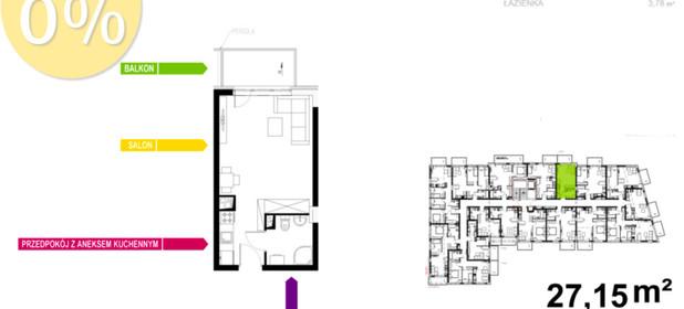 Mieszkanie na sprzedaż 27 m² Gliwice Stare Gliwice Kozielska - zdjęcie 2