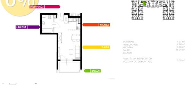 Mieszkanie na sprzedaż 29 m² Sosnowiec Sielec Klimontowska - zdjęcie 1