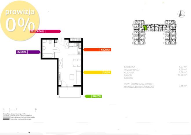 Morizon WP ogłoszenia | Kawalerka na sprzedaż, Sosnowiec Sielec, 30 m² | 0148