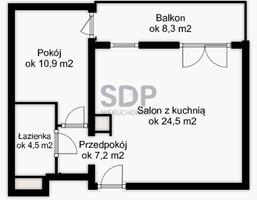 Morizon WP ogłoszenia   Mieszkanie na sprzedaż, Wrocław Jagodno, 47 m²   6013