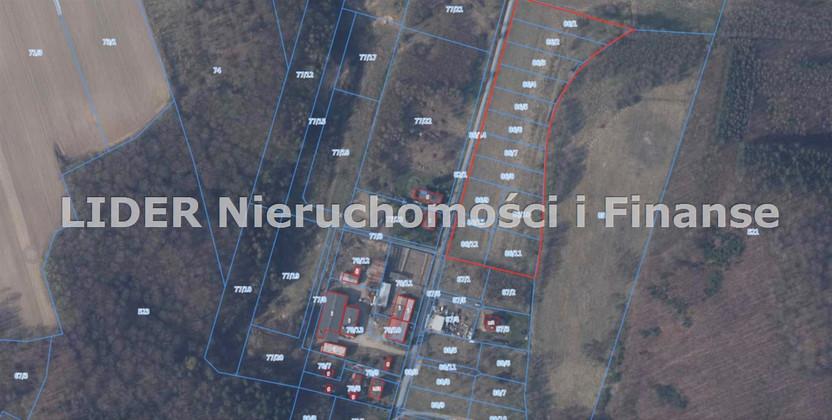 Działka na sprzedaż, Łęczyce Leśna, 1000 m²   Morizon.pl   7935