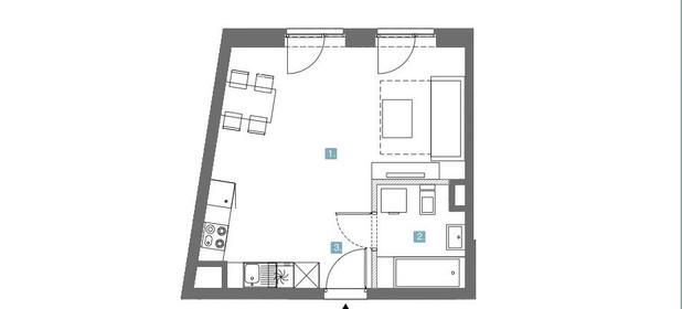 Mieszkanie na sprzedaż 26 m² Gdańsk Stare Miasto Chmielna - zdjęcie 3