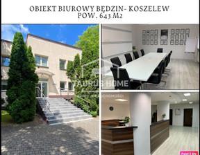 Biuro na sprzedaż, Będzin, 643 m²
