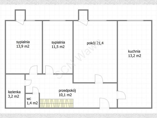 Morizon WP ogłoszenia | Mieszkanie na sprzedaż, Warszawa Wola, 74 m² | 7335