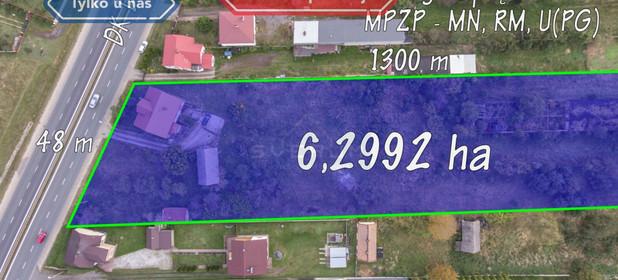 Działka na sprzedaż 62992 m² Częstochowski Kamienica Polska Wanaty Warszawska - zdjęcie 1