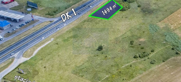 Działka na sprzedaż 1494 m² Myszkowski Koziegłowy - zdjęcie 1