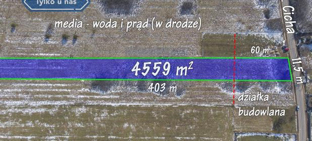 Działka na sprzedaż 4559 m² Myszkowski Koziegłowy Gliniana Góra Cicha - zdjęcie 3