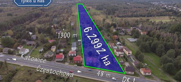 Działka na sprzedaż 62992 m² Częstochowski Kamienica Polska Wanaty Warszawska - zdjęcie 3