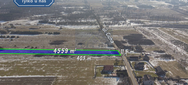Działka na sprzedaż 4559 m² Myszkowski Koziegłowy Gliniana Góra Cicha - zdjęcie 1