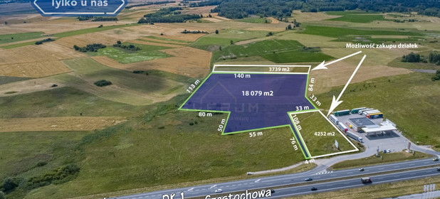Działka na sprzedaż 18079 m² Myszkowski Koziegłowy - zdjęcie 3