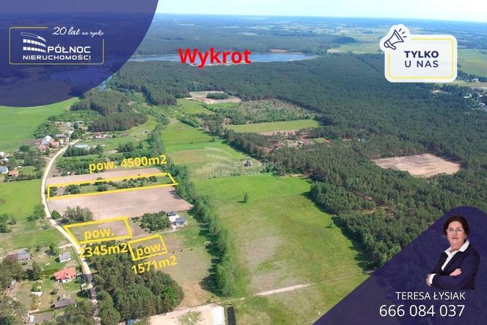 Działka na sprzedaż, Wydmusy, 1700 m²   Morizon.pl   9969