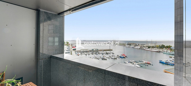 Mieszkanie na sprzedaż 42 m² Gdynia Śródmieście Hryniewickiego, Sea Towers - zdjęcie 2