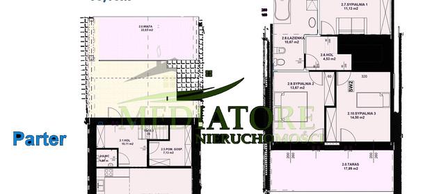 Mieszkanie na sprzedaż 114 m² Zgierski (pow.) Zgierz - zdjęcie 2