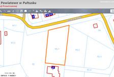 Działka na sprzedaż, Popławy Nadnarwiańska, 1611 m²