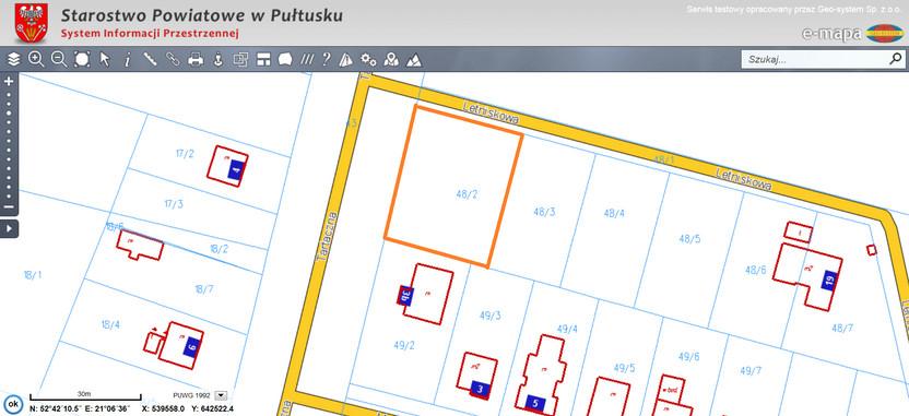 Działka na sprzedaż, Pułtusk Tartaczna, 1120 m² | Morizon.pl | 2344