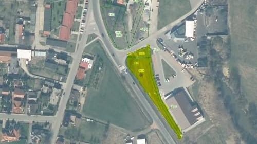 Działka na sprzedaż 1291 m² Oleski Gorzów Śląski Towarowa - zdjęcie 2