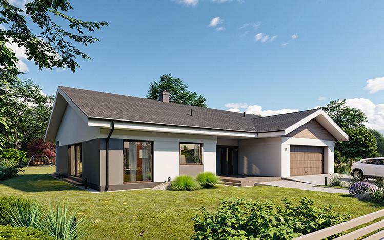 Dom w inwestycji Osiedle Rozalin, Lusówko, 241 m² | Morizon.pl | 7310